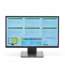 Coloured Wide-Screen Monitor Overlays