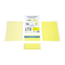 Visual Stress Relief Starter Packs